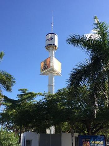 antena telecomunicaciones camuflaje espectacular telecom