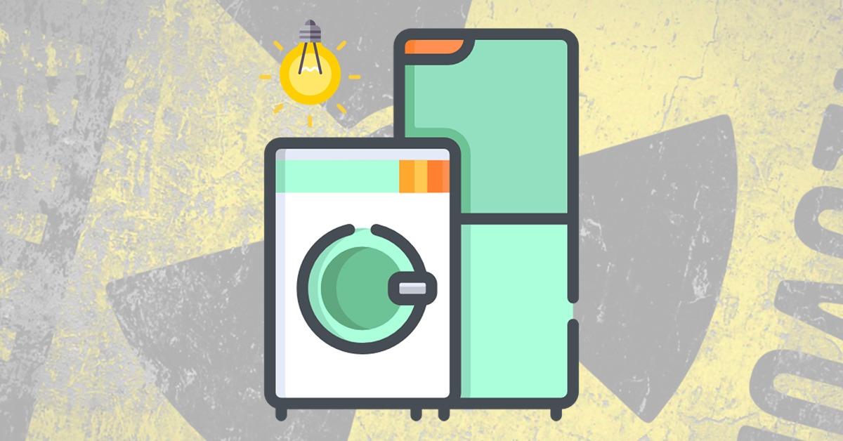 radiación en electrodomésticos