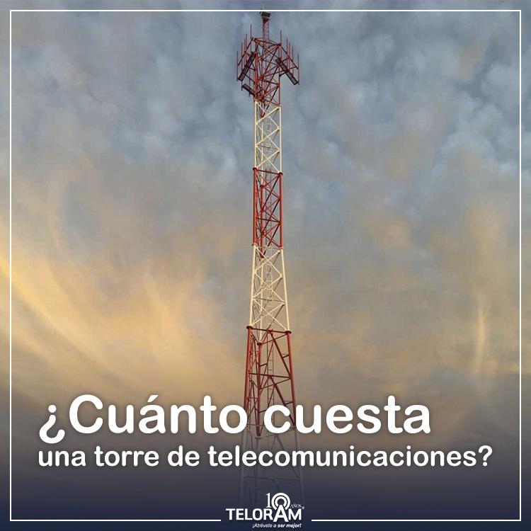 torre de telecomunicaciones precio